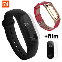 Global Original Xiaomi Mi Band 2 With Passometer Activity Tracker Xaomi Smart Bracelet Fitness Watch For