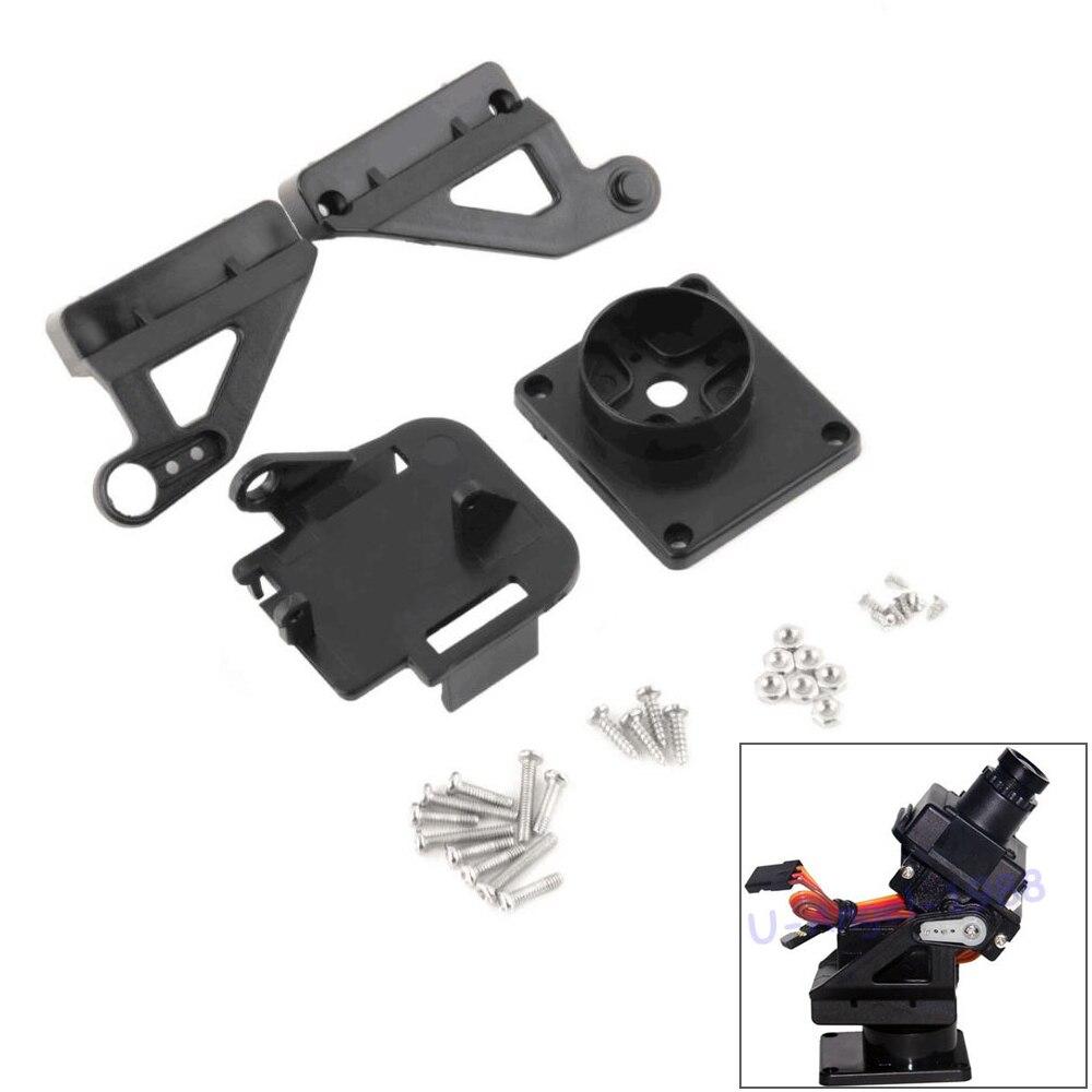 Rc Servo Bracket PT Pan/Tilt Camera Platform Anti-Vibration Camera Mount For Aircraft FPV Dedicated Nylon PTZ For 9G SG90 MG90S