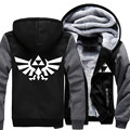 Newest Unisex Thicken Hoodie The Legend of Zelda Jacket Sweatshirts Coat Clothing Casual