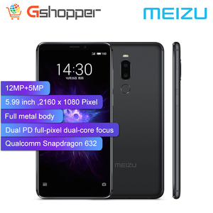 Image 2 - Global Version Meizu Note 8 4GB 64GB Mobile Phone Snapdragon 632 Octa Core Note8 Smartphone Full Metal Body Dual Rear Camera
