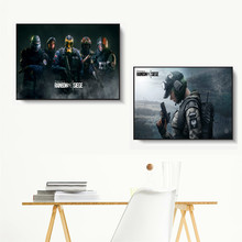 Rainbow Six Siege Tom Clancy Canvas Art Print Painting Modern Wall Picture Home Decor Bedroom Decorative Posters No Frame Quadro