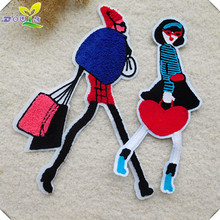 Towel embroidered cloth patch, clothing sweater, cowboy down vogue, ornamental applique and beauty paste