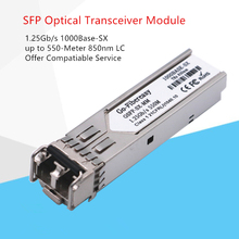 Gigabit Fiber Optic SFP Transceiver Module, 1000Base-SX, MMF, 850nm 550m. 1.25G SFP SX for GLC-SX-MMD/GLC-SX-MM цена 2017