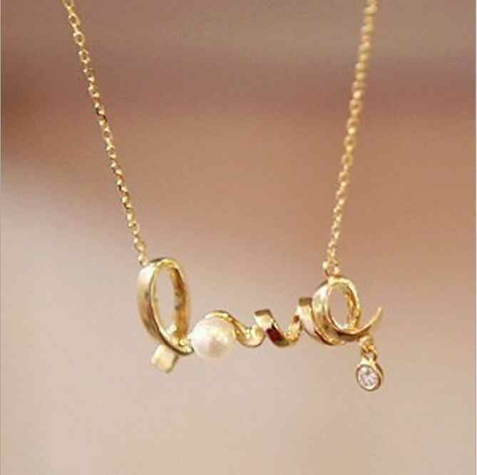 Colares Feminino 2016 Vintage Fashion Jewellery Heart Of Love Chic Sweet Couple Necklace Jewelry Choker Heart Bijoux Femme