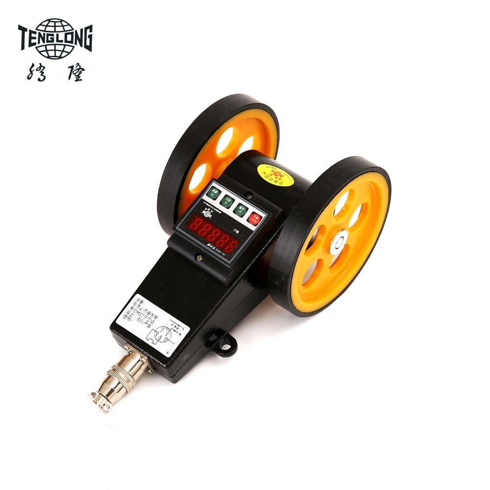 цена на LK-90SC Length wheel encoder Length counter length meter wheel digital length instrument