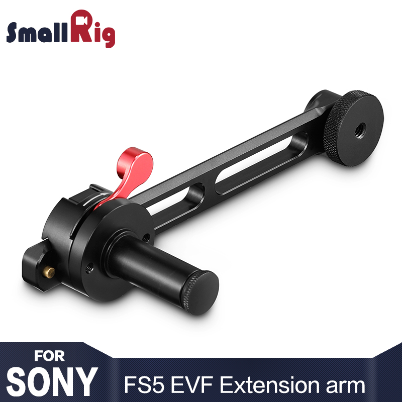 все цены на SmallRig DSLR Camera EVF Extension Arm for Sony PXW-FS5 and for Panasonic EVA1 2200