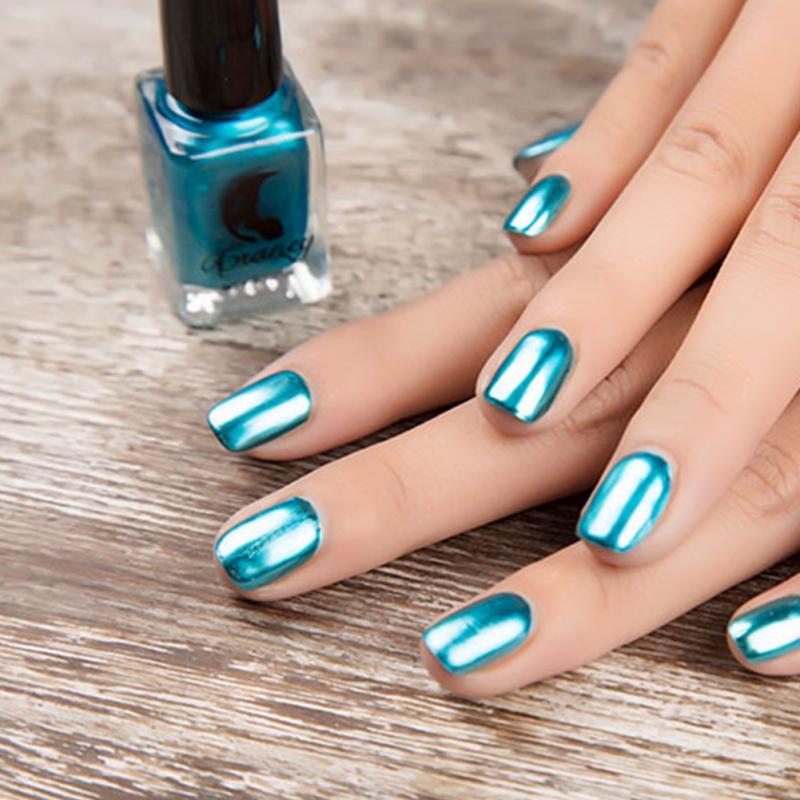6ml mirror effect metallic nail