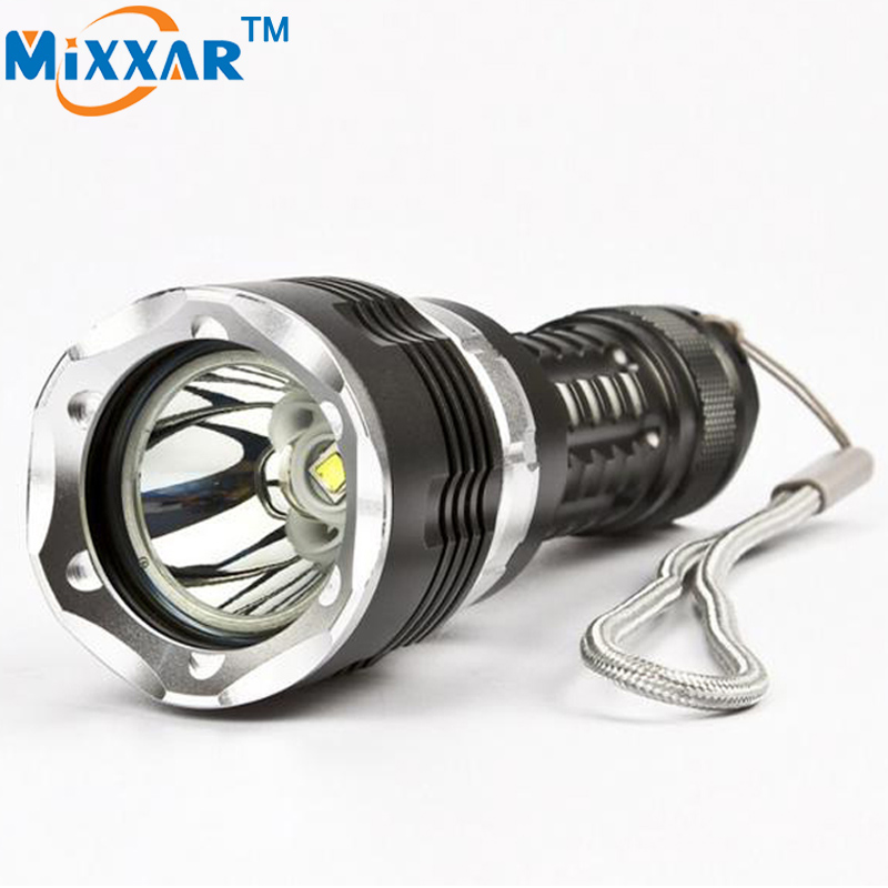 RU ZK30 CREE XM-L2 Diving LED Flashlight 5000LM Lantern Dive Waterproof underwater 120m Military grade flashlight Zoomable Torch burberry футболка