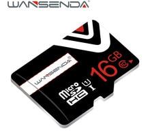 100% Capacity Black Wansenda TF flash card 4GB/8GB/16GB/32GB/64GB  High speed TF Card Class 10 Memory Card with package