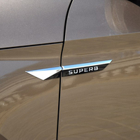 Fender Word Mark Fender Stickers For Skoda Superb Speed To Send The New Speed Camp Wing