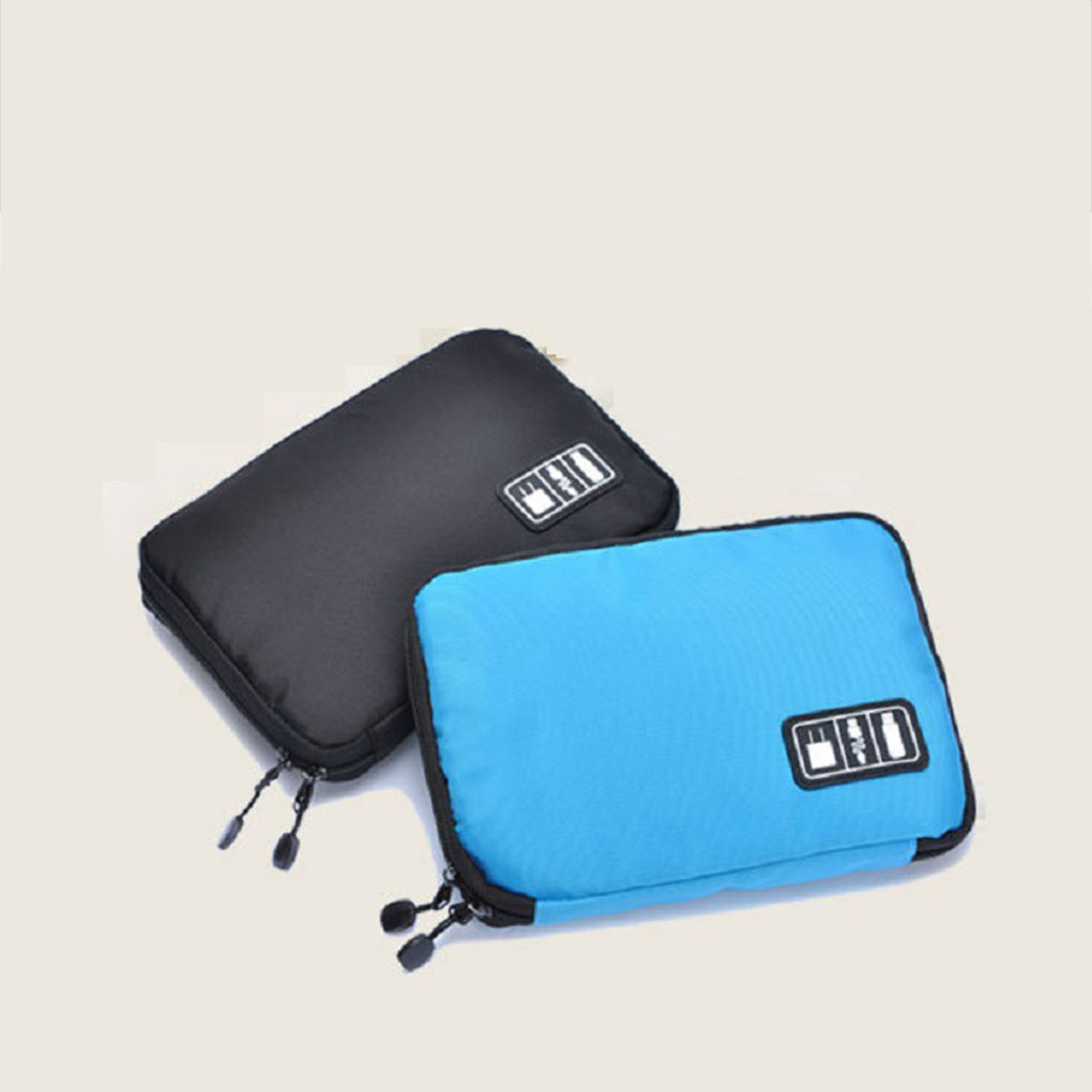 Gadget USB Cable Organizer Storage Bag Travel Electronic Accessories Pouch Case Power Bank Holder Waterproof SD card