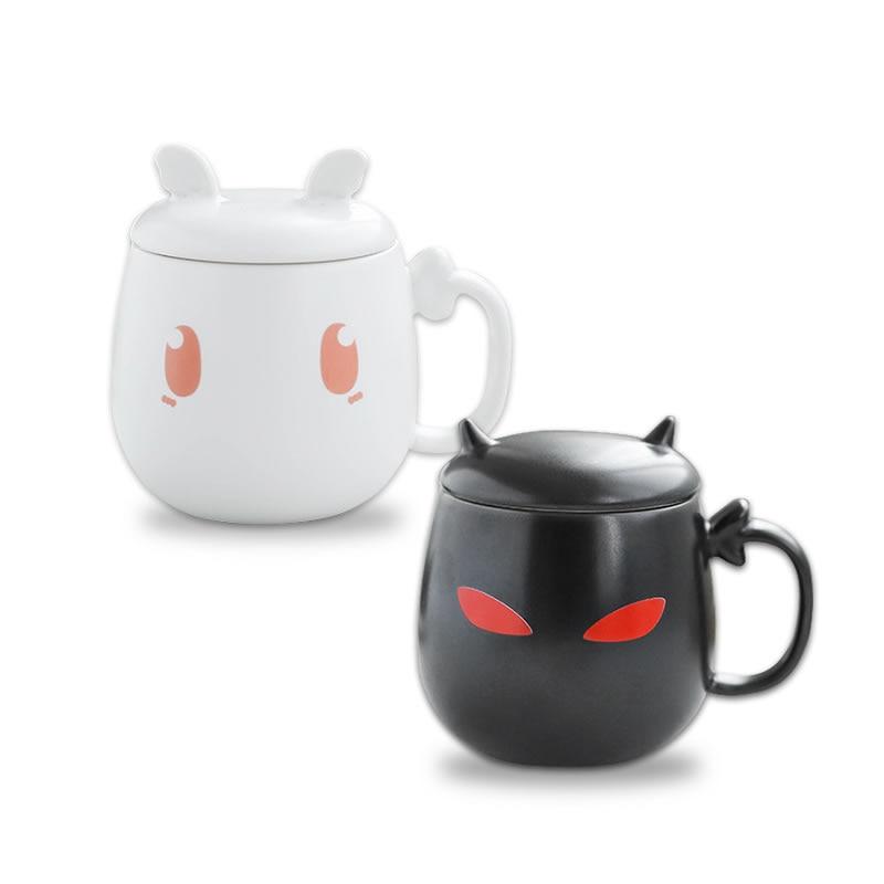 Cute Ceramic Coffee Mug Novelty Milk Tea Cups and Mugs Creative Cat Mugs Animal Mugs Drinkware Christmas Gift