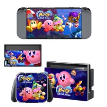 Kirby Star Allies Skin Sticker vinyl for NintendoSwitch Sticker Skin for Nintendo Switch NS Console and Joy-Con Controller