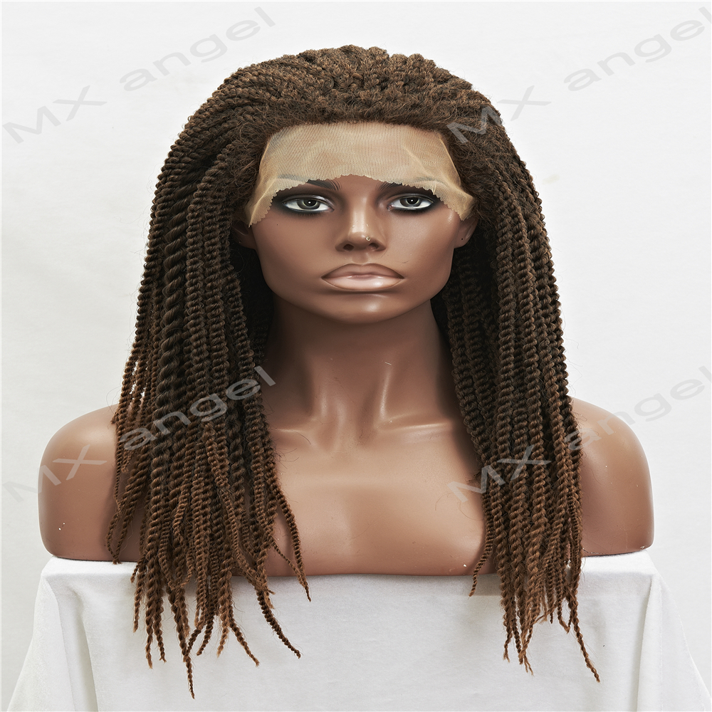 Synthetic Heat Resistant Micro Braided Wigs African American Hair Braiding Styles Long Dark Root Honey Blonde Color Wigs Aliexpress