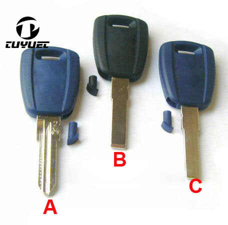 Transponder Sleutel Shell Autosleutel Blanks voor Fiat FOB Key Case Cover 10 stks/partij