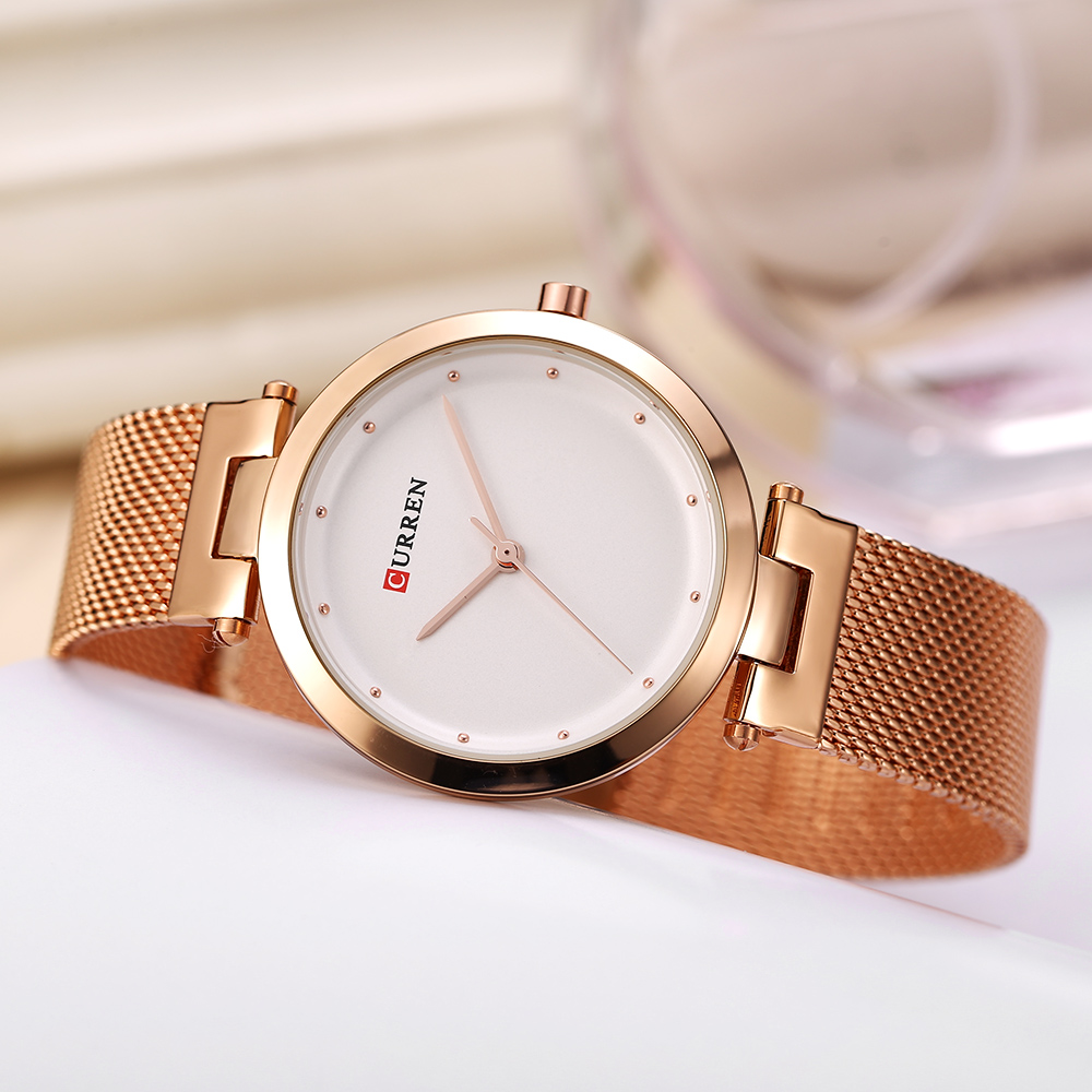 CURREN 9005 Luxury Women Watch Famous Brands Gold Fashion Design Bracelet Watches Ladies Women Wrist Watches Relogio Femininos wholesale drop shipping (18)
