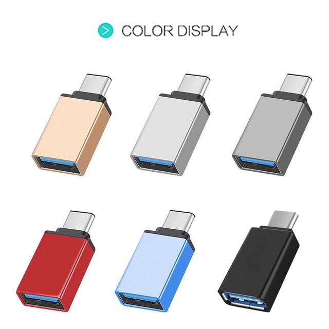 Tipe C untuk USB 3.1 Adapter Converter 5 Gbps Portable untuk Ponsel Keyboard Gamepad DJA99