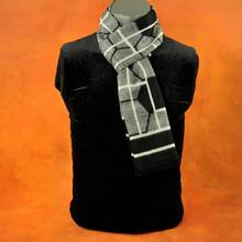 Wholesale Casual Tartan Jacquard Scarfs Brand Men Business Scarf Winter Warm Cashmere Foulard Cachecol YJWD320