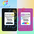 Wholesale 2PK (1BK & 1CL) for HP 704 XL ink cartridges for HP 652 Deskjet 2010/2060 ink advantage printers compatible with chips