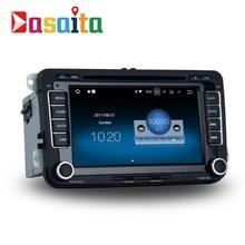 Dasaita 7″ Android 7.1 Car GPS DVD Player Navi for VW Golf Polo Passat Tiguan EOS with 2G+16G Quad Core Stereo Multimedia HDMI