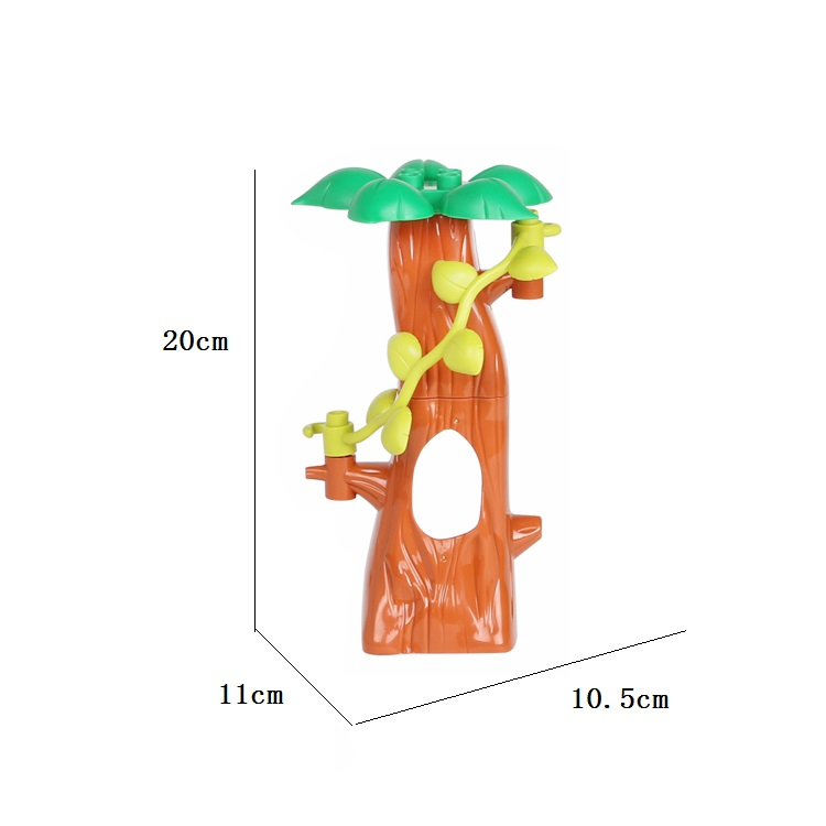 Forest Park plant tree leaf Model Big Particles Building Blocks Toys Set Bricks DIY accessory Child Gift Compatible with Duplo