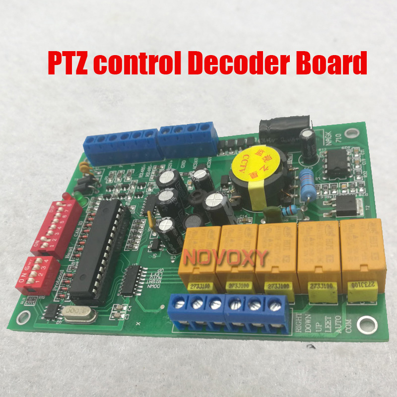 Free Shipping Indoor RS485 Decoder Board For CCTV PTZ Camera System