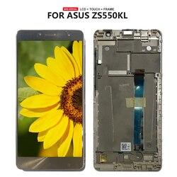 Darmowa wysyłka dla Asus Zenfone 3 Deluxe ZS550KL Z01FD Digitizer ekran dotykowy montaż wyświetlacza lcd część naprawcza w Ekrany LCD do tel. komórkowych od Telefony komórkowe i telekomunikacja na
