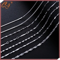 Chain white gold plated 18 inches 1.5MM Silver Chain wholesale