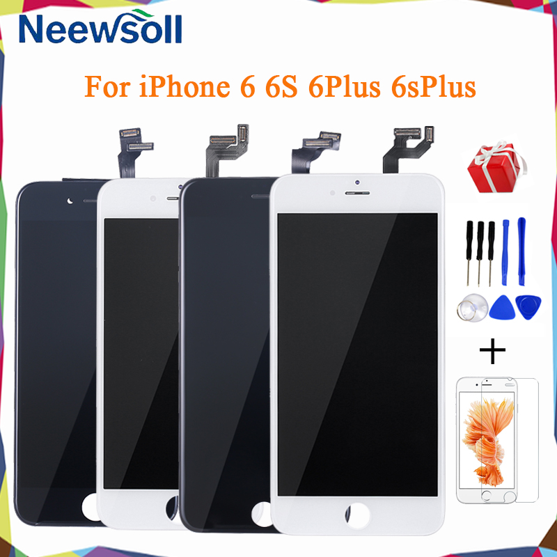 Neewsoll Grade AAA+ LCD Display  For IPhone 6 6S Plus LCD Touch Screen Digitizer Assembly Display Replacement No Dead Pixel