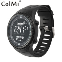 ColMi Smart Watch S4 Fishing Point Pressure Remind Tracking 5ATM Waterproof Altimeter For Mens Fishing Running