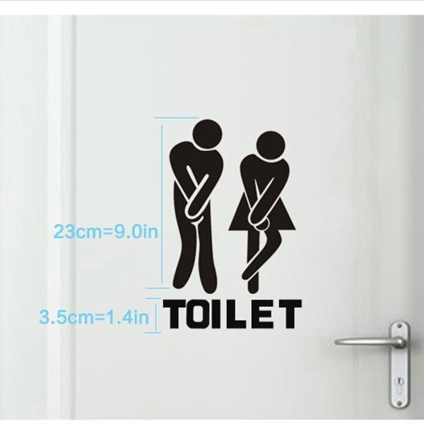 Новое поступление 2016 г. женские/мужские комнатный деревянный знак доски Санузел туалет Для мужчин и Для женщин FullHome