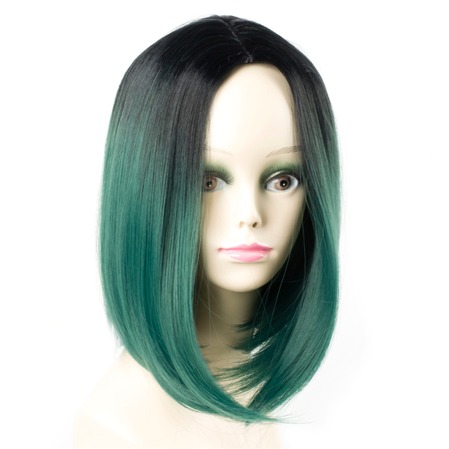 ELEGANT ΜΟΥΣΕΣ 10 ιντσών συνθετική Ombre - Συνθετικά μαλλιά - Φωτογραφία 3