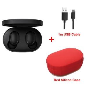 Image 5 - Xiaomi Redmi Airdots TWS 블루투스 이어폰 스테레오베이스 무선 소음 감소 헤드셋 마이크 핸즈프리 이어 버드 AI 컨트롤