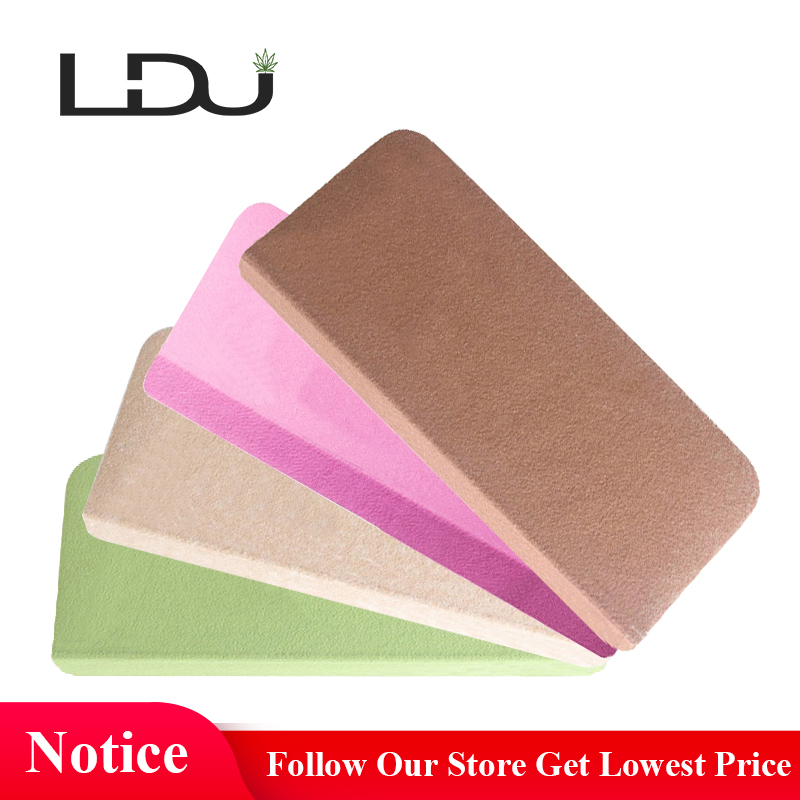 RULDGEE 13PCS Self adhesive Non slip Home Polyester PVC Stair Carpet for Living Room Solid Color