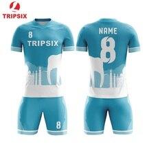 Последние дизайнерский футбольный Джерси для детей Oem футбольная форма по индивидуальному заказу для детей Футбольная Одежда