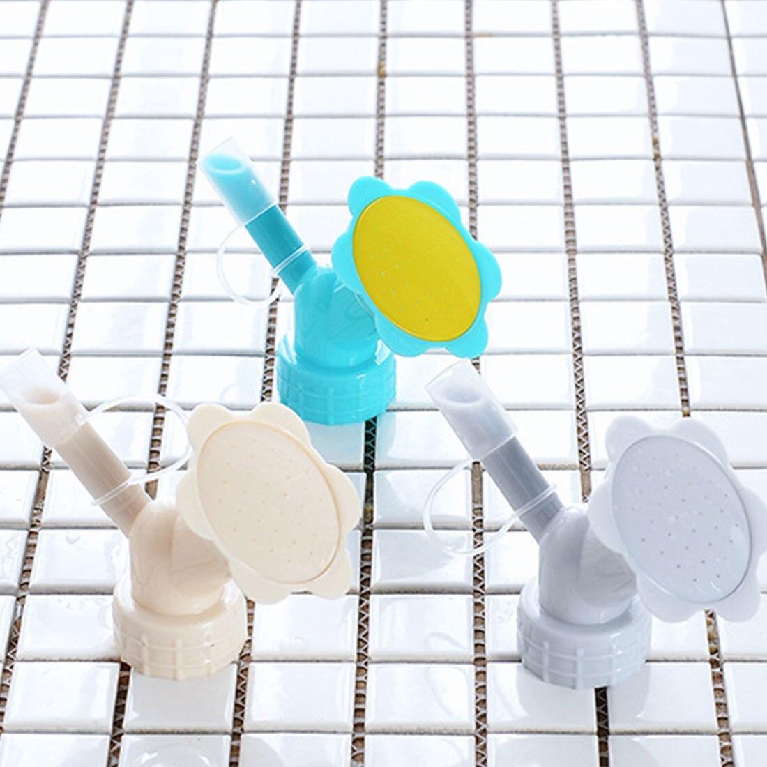 1pc Garten Sprinkler Kunststoff Tragbare Anlage Garten Bewässerung Düse Werkzeug Spray Waterer Wasser Dosen für Blume Bewässerung-in Garten-Sprinkler aus Heim und Garten bei