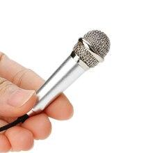 Мини микрофон для караоке, портативный микрофон с разъемом 3,5 мм, микрофон для записи звука