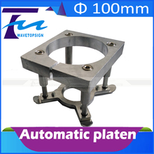 100mm cnc aluminium pressure plate clamp diameter 100mm cnc router auto foot fixture holder device for 3KW spindle motor(China (Mainland))