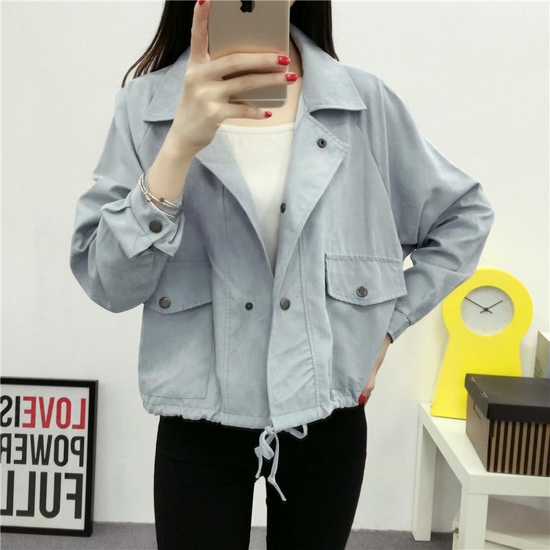 Свободная белая повседневная куртка Yang QING HUAN, новая брендовая куртка с длинным рукавом и карманом в стиле Харадзюку, 2020