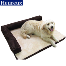 heureux warm dog house thick pp cotton dog bed for medium and large dogs washable dog sofa winter use xxxl pet bed
