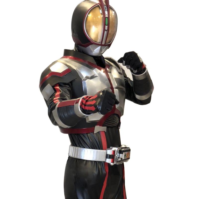Kamen Rider 555 Cosplay Suit Kamen Rider Faiz Full Body Armor Suit Tokusatsu Cosplay Wear Kamen Rider Cosplay  With NO BELT