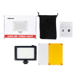 Image 5 - Ulanzi 96 LED Video Light with Battery Filters Hotshoe Photo Lighting on Camera for Canon Nikon Sony Camcorder DV DSLR