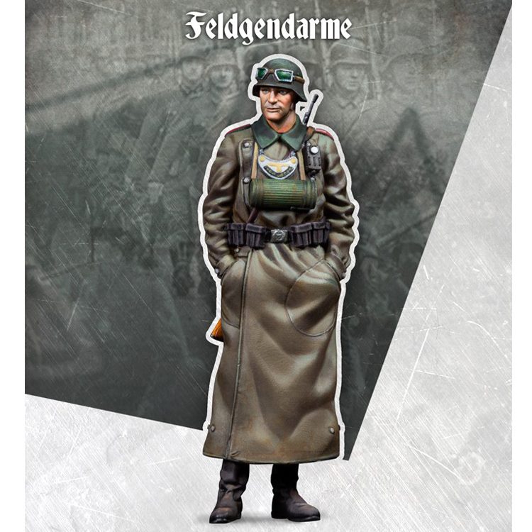 <font><b>1</b></font>/<font><b>35</b></font> <font><b>Resin</b></font> Soldier <font><b>Model</b></font> Military War <font><b>German</b></font> Soldier image