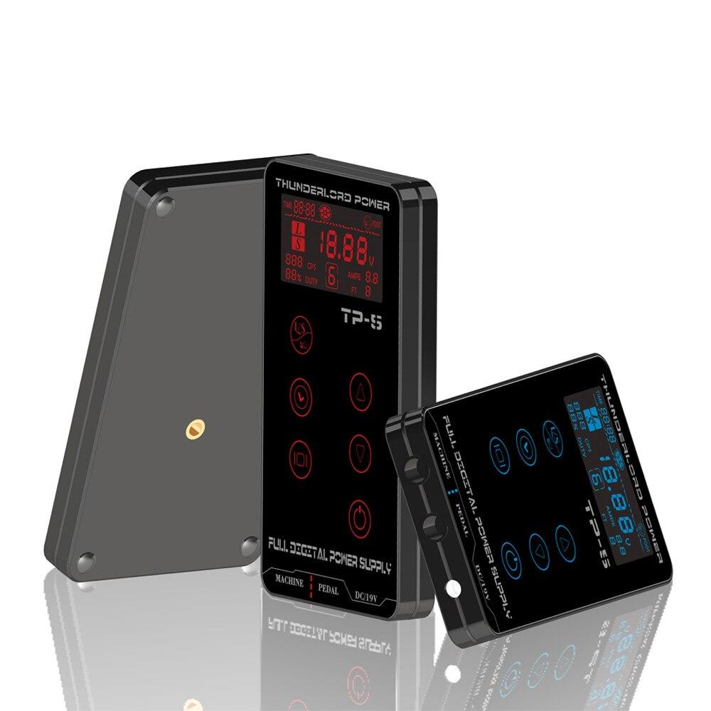 Tatouage alimentation HP-2 HURRICAN MISE À NIVEAU écran tactile TP-5 Intelligent Numérique LCD Maquillage Double Tatouage Alimentations ensemble - 6