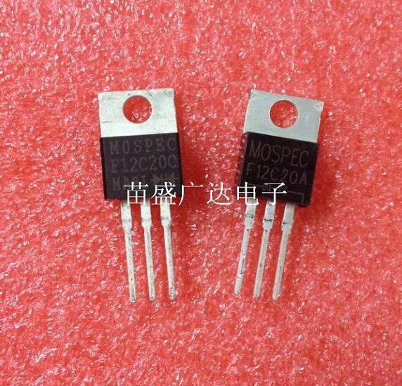 50 pcs/lot F12C20C TO22050 pcs/lot F12C20C TO220