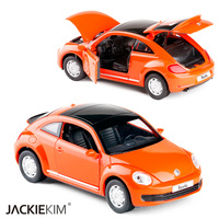 High Simulation 1 29 Volkswagen Beetle Diecast Alloy Car Model Toy Metal Cars With Pull Back