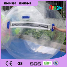 Free Shipping! 2.0m Clear Inflatable Water Walking Ball/Zorb Ball Walking On Water/Walk Ball/Water Ball