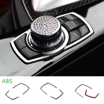Car Multimedia Cover Frame Trim For BMW E46 E39 E60 E36 E90 F30 F10 X5 M M3 M5 E83 E86 E88 E84 E71 E70 X3 X5 X6 Accessories image