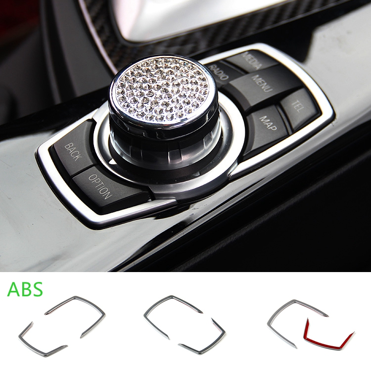 Car Multimedia Cover Frame <font><b>Trim</b></font> For <font><b>BMW</b></font> E46 E39 E60 E36 E90 F30 F10 X5 M M3 M5 E83 E86 E88 E84 E71 <font><b>E70</b></font> X3 X5 X6 Accessories image