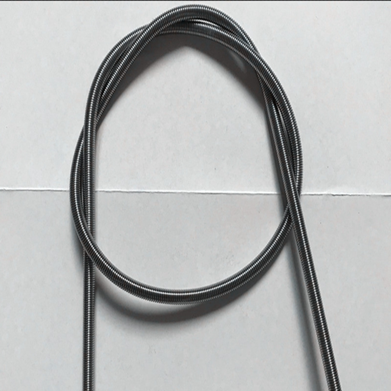 NO LOGO L-Yune 1Pcs 300mm Spring Steel Dual Hook Long Expansion Tension Spring Hardware Accessories Wire Dia 0.5-1.2mm Outer Dia 3-10mm Size : 0.5 x 3 x 300mm